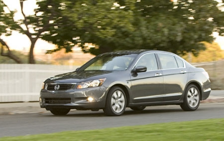 Тест-драйв Honda Accord 2008 (USA)