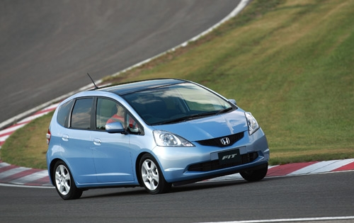 Тест-драйв: Honda Fit (Jazz) 2009